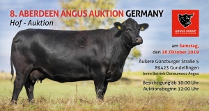 8. Aberdeen Angus Auktion Germany